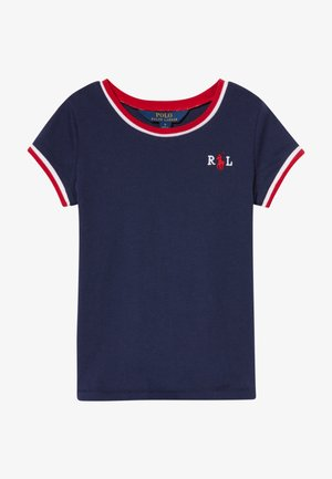 RINGER - Camiseta estampada - french navy