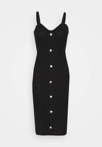 VMTIA BUTTON CALF DRESS