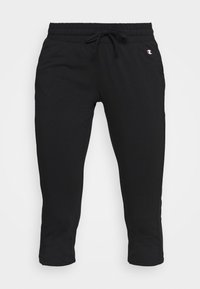 Champion - CAPRI PANTS - Urheilucaprit - black - 3