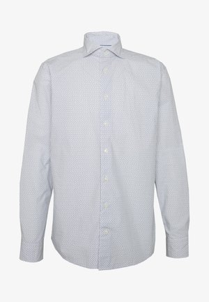 SLIM FIT - Formal shirt - white/blue