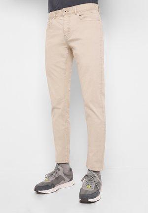 FIVE POCKETS - Jean slim - beige