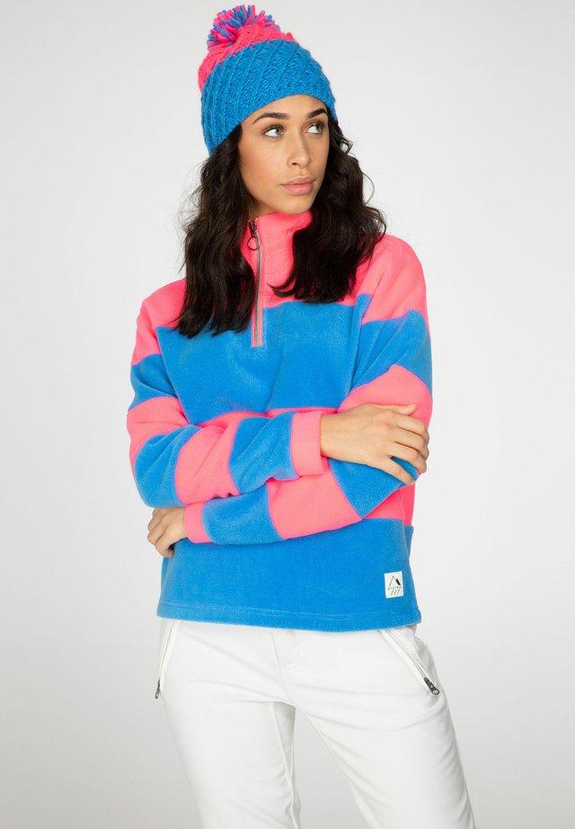CASSIE - Fleece jumper - so rosy