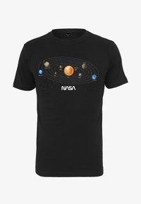 Mister Tee - NASA SPACE TEE - T-shirt med print - black - 0