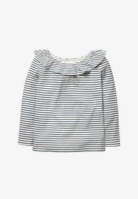 Boden - Long sleeved top - natural white/dark blue - 0