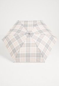 Barbour - PORTREE UMBRELLA - Deštník - pink/grey tartan - 2