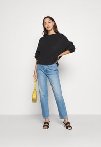 Anna Field - BAT SHAPE OVERSIZED - Neule - black - 3