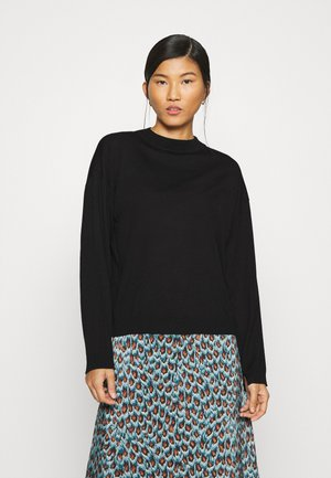 MERINA - Jumper - black