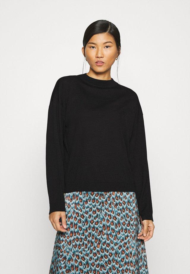 MERINA - Sweter - black