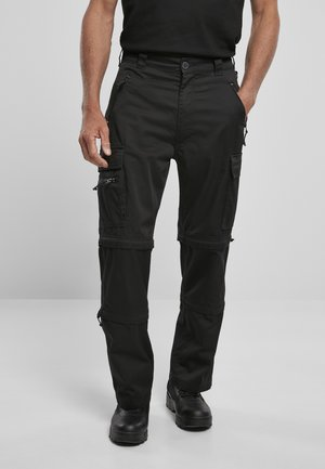 SAVANNAH - Cargo trousers - black