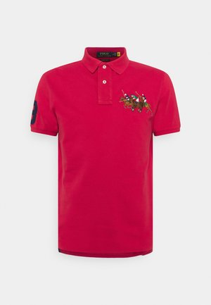 SHORT SLEEVE - Polo shirt - sunrise red