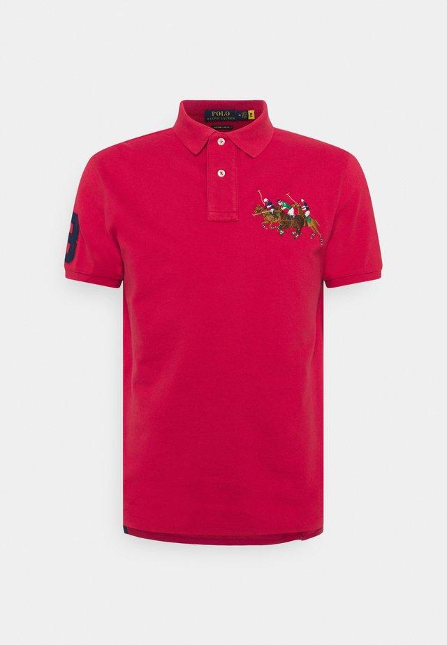 SHORT SLEEVE - Polo shirt - sunrise red