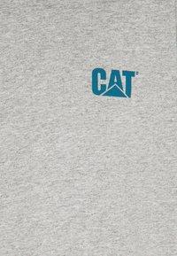 Caterpillar - SMALL LOGO  - T-shirt con stampa - heather grey - 2