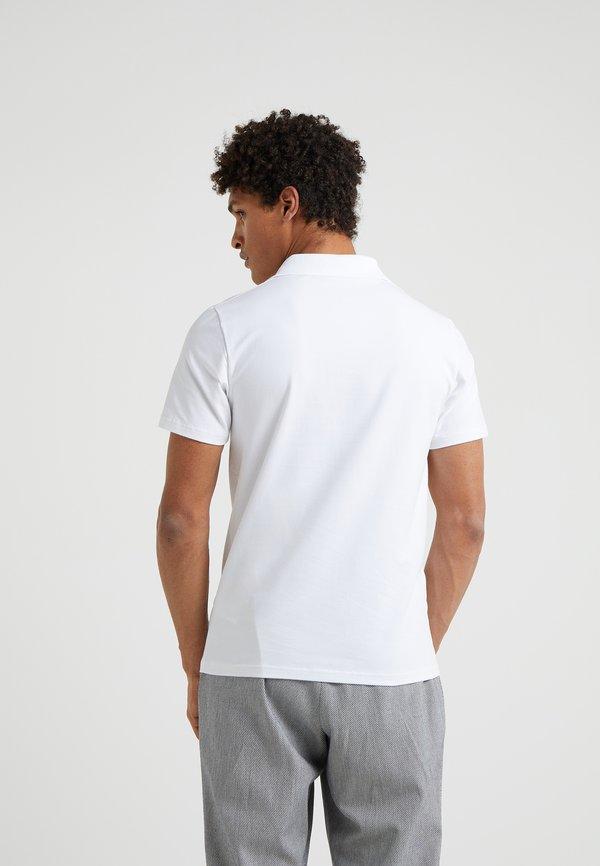 Filippa K Koszulka polo - white/biały Odzież Męska ZOEY