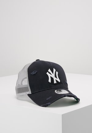 DISTRESSED TRUCKER - Cappellino - new york yankees