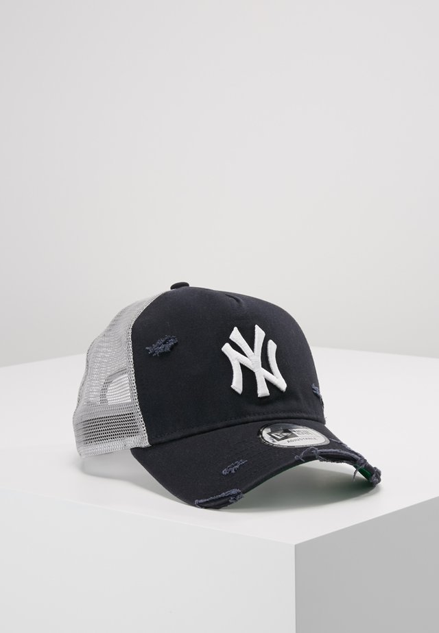DISTRESSED TRUCKER - Kšiltovka - new york yankees