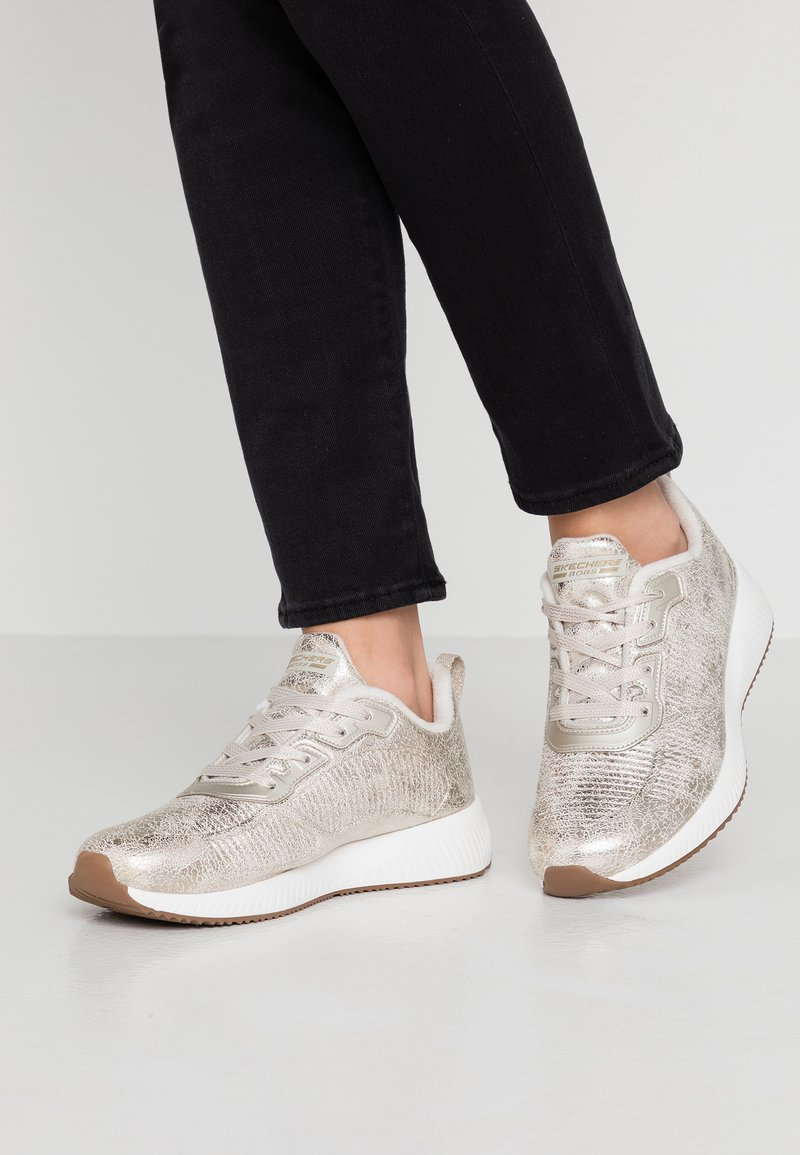 Skechers Sport - BOBS SQUAD - Trainers - champagne