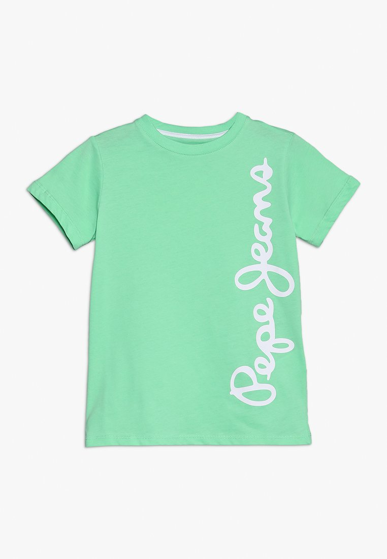 Pepe Jeans - WALDO - Print T-shirt - briant green
