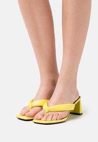 River Island - T-bar sandals - yellow - 0