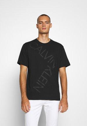 BOLD LOGO RELAX - Print T-shirt - black