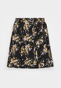 GODET SKIRT - A-line skirt - black