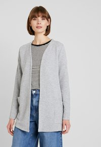 ONLY - ONLKIMBERLY JOYCE LONG CARDIGAN - Strikjakke /Cardigans - light grey - 0
