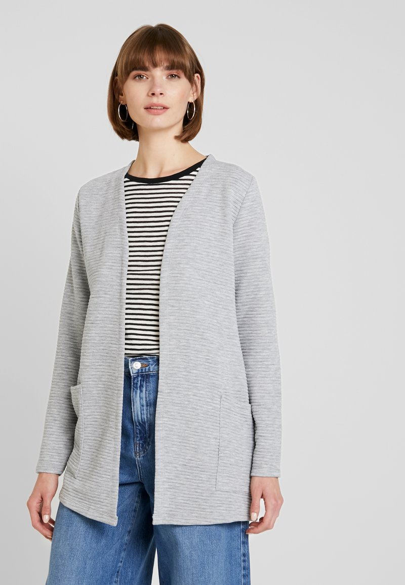 ONLY - ONLKIMBERLY JOYCE LONG CARDIGAN - Strikjakke /Cardigans - light grey