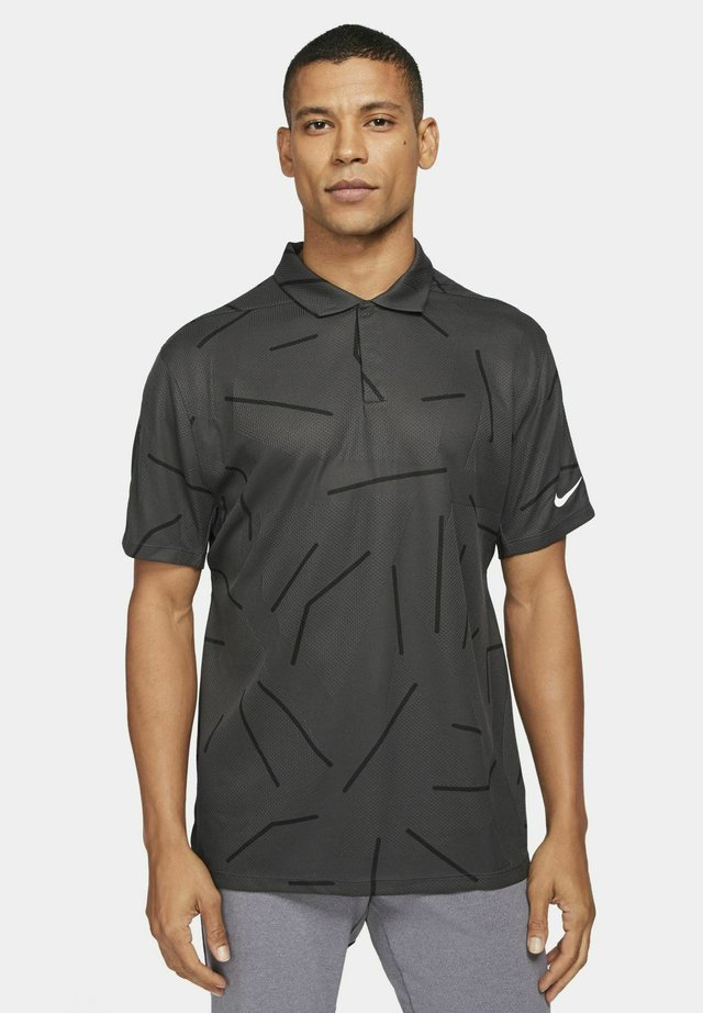 TIGER WOODS DRY COURSE  - T-shirt de sport - dark smoke grey/black