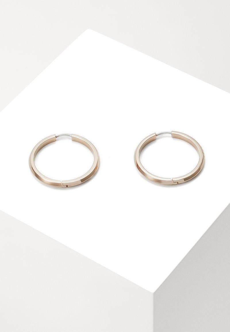 BOSS - INSIGNIA - Earrings - rose gold-coloured