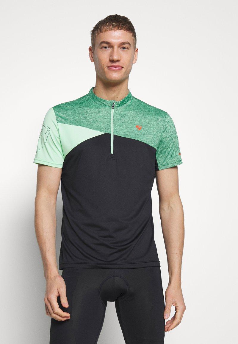Ziener - NIOWI - Print T-shirt - fresh mint