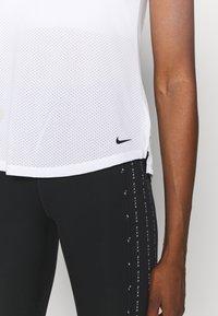 Nike Performance - ONE BREATHE TANK - Top - white/black - 5