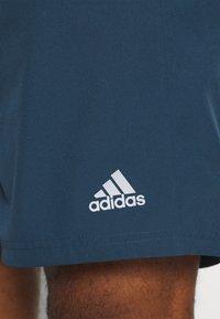 adidas Performance - RUN IT SHORT - Sports shorts - crew navy - 4