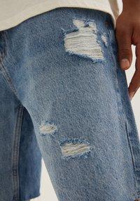 PULL&BEAR - Denim shorts - dark-blue denim - 5