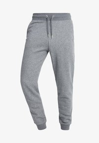 GANT - THE ORIGINAL PANT - Tracksuit bottoms - dark grey melange - 4
