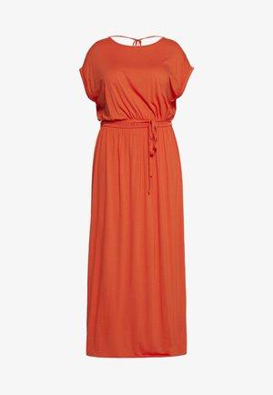 CURVE TIE BACK MAXIDRESS - Maxi dress - orange