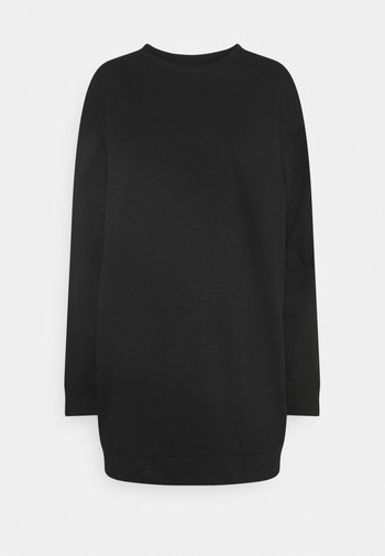 VIRUST O NECK DRESS - Day dress - black