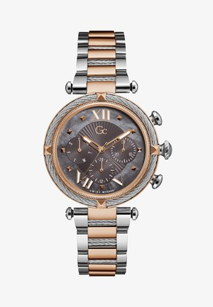 CABLECHIC - Chronograaf - silver & rose gold