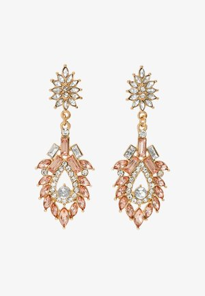 PCJOLLI EARRINGS - Orecchini - gold-coloured/champagne