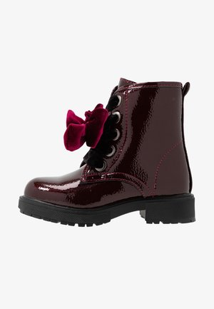 Veterboots - burgundy