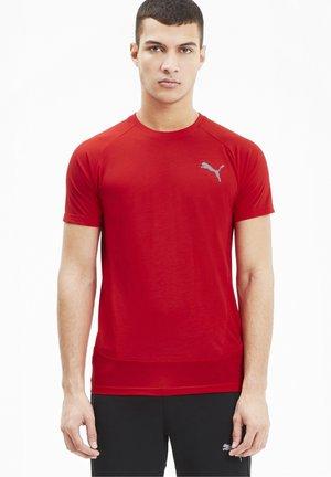 EVOSTRIPE MEN'S HOMMES - T-shirts print - high risk red