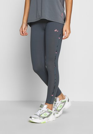 ONPMARIKA TRAINING  - Leggings - turbulence/phantom black