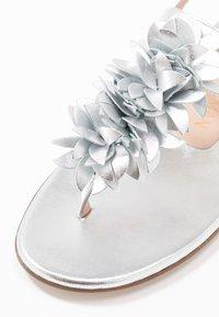 Stuart Weitzman - DEVORAH - T-bar sandals - silver - 2