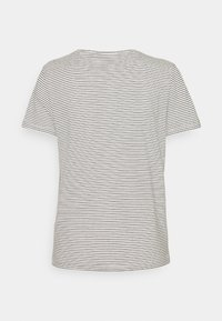TOM TAILOR - STRIPED - Print T-shirt - offwhite - 1