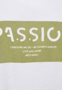 Mos Mosh - CHÉRIE TEE - Print T-shirt - winter pear - 2