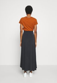 Object - OBJANNIE MIDI SKIRT - STRAIGHT - Wrap skirt - black - 2