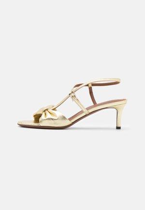 HEEL - Sandals - platimum