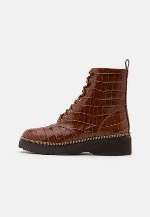 HASKELL BOOTIE - Lace-up ankle boots - chestnut