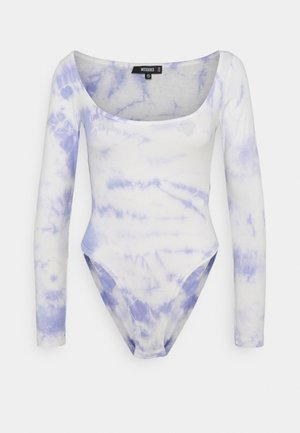 TIE DYE SCOOP NECK BODYSUIT - Long sleeved top - multi