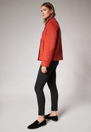 Short coat - dark orange