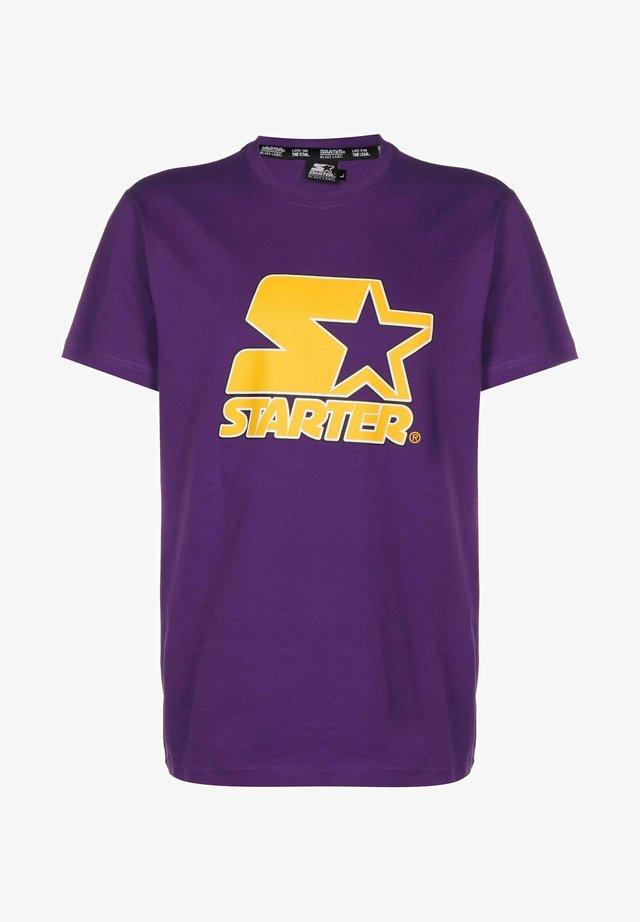 CONTRAST  - T-shirt imprimé - real violet
