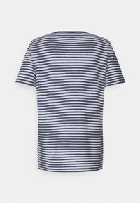 Selected Homme - SLHAUGUSTUS  - Print T-shirt - dark blue melange/light grey melange - 1